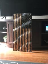 Large Wavy Flag
