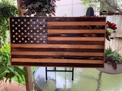 Medium Cedar Flag